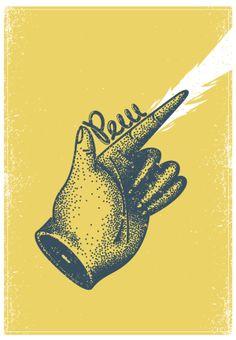 Pew! by Manuel Cetina, via Behance