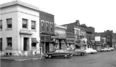 Eilert Heerten resided in Petersburg, Tazewell County, Illinois for a short time when arriving in the U.S.  Image ca. 1950