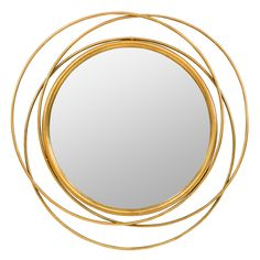 Shop Carson Carrington Lacksta Round Wall Mirror - On Sale - Overstock - 29045976 Living Room Decor Cozy, Living Room Mirrors, Round Wall Mirror, Round Mirrors, Fake Plants Decor, Home Accents, Antique Gold, Decor Styles