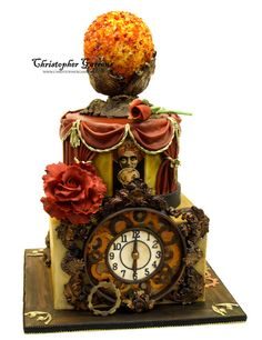 fortune teller and crystal ball cake by Christopher Garrens Cakes