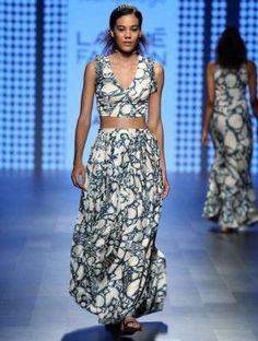f30c704a353 Crop Top Dhoti Skirts - Love for stripes printed crop top | Swati  Vijaivargie