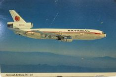 Vintage Travel, Vintage Airline, Airplane Flying, National Airlines, Aircraft, Aviation, Planes, Airplane, Airplanes