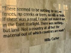 from my antonia willa cather this is the paragraph that stayed with me because i feel it too all things bookish pinterest willa cather