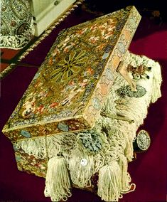 Chest of pearls from the Crown Jewels of Iran (Persia)