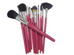 Hot Pink Makeup Brushes Help Set Me Apart - http://ge.tt/8zm7iXA2/v/0