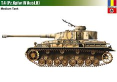 T-4 / Pz.Kpfw IV Ausf.H Panzer Iv, Army Vehicles, Armored Vehicles, Tank Armor, War Thunder, Tank Destroyer, Engin, Armored Fighting Vehicle, Ww2 Tanks