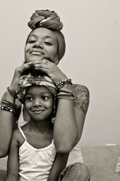 Portrait of a mother and daughter ~People - 50 Most Popular Human Portraits of 2014