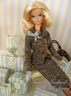 Interested in all things Barbie? Visit the official Barbie Signature Forums and participate in unique conversations you won Barbie I, Vintage Barbie Dolls, Barbie World, Barbie And Ken, Barbie Clothes, Plaid Fashion, Barbie Collector, Barbie Friends, New Outfits