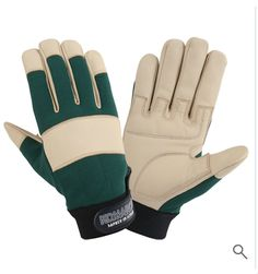 Mechanic Gloves, Leather Industry, Safety Gloves, Leather Gloves, Cowhide Leather, Palm, Closure, Beige, Website