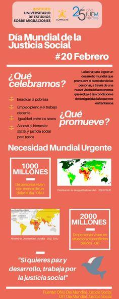 20 de Febrero: Día Mundial de la Justicia Social Social Justice, Diversity, Identity, Socialism, February, Personal Identity