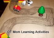 Toddler and preschool visual motor activities to help develop eye-hand coordination. Visual Motor Activities, Preschool Activities, Toddler Preschool, Toddler Activities, Diy For Kids, Crafts For Kids, Occupational Therapy Activities, Kids Hands, Motor Skills