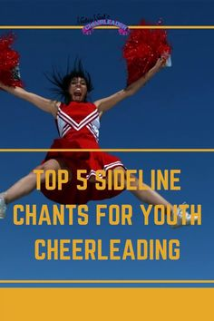Whether you are cheering from the sidelines of your favorite basketball, football, or volleyball team, the Cheerleader Handbook has the hookup you have been looking for! Check out the top 5 sideline chants for youth cheerleading at any sport! Cheerleading Moves, High School Cheerleading, Cheerleading Photos, Cheerleading Cheers, Cheer Coaches, Volleyball Team, Basketball Cheers, Football Cheer, Cheerleader Hairstyles