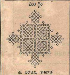 Kolam design, Indian floor art