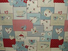 Fryetts Cotton Designer Fabric Curtain Upholstery Fryett's Vintage Shabby Chic | eBay