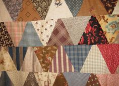 Antique-pyramid-quilt-top-late-1800s-conversationals-fabric-study