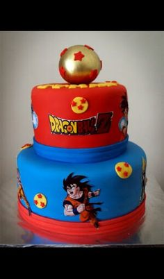 Dragon Ball z cake