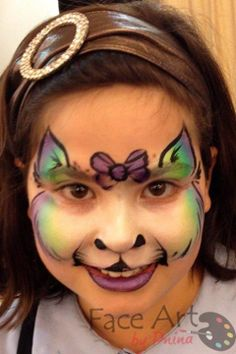 Girl Face Painting, Face Painting Designs, Face Paintings, Body Painting, Costume Makeup, Cat Face, Face Art, Paint Ideas, Artist At Work