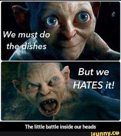 The little battle inside our heads