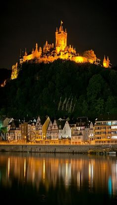 Burg Cochem, Germany by N+C Photo on Flickr