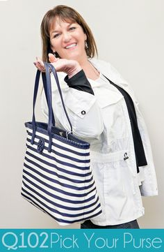 Tory Burch - Marion Nylon Tote. Go to wkrq.com to find out how to play Q102's Pick Your Purse!