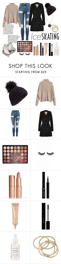 """Ice Skating"" by moriah-fashion ❤ liked on Polyvore featuring Miss Selfridge, Topshop, Morphe, Violet Voss, Charlotte Tilbury, Giorgio Armani, tarte, Gucci, Herbivore and ABS by Allen Schwartz"