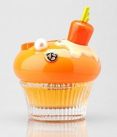 Alice & Peter Bloody Orange Cupcake Perfume. Boy the designers thought of everything.  B.