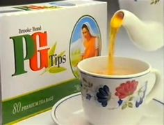 PG Tips tea...and lots of it!