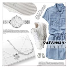 Summer Look by janee-oss on Polyvore featuring polyvore fashion style Gap Puma Kate Spade NOVICA clothing