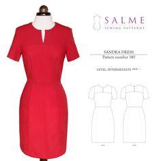 Sandra Dress Sewing Pattern
