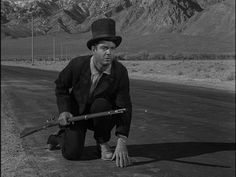 """""""A Hundred Yards Over the Rim,"""" with Cliff Robertson--one of the best episodes ever of The Twilight Zone."""
