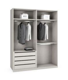 Fresh interior armario con baldas y cajones