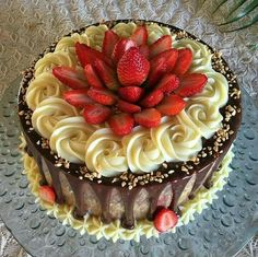 This looks like a German chocolate cake underneath all the decorations Bakery Recipes, Cupcake Recipes, Cupcake Cakes, Dessert Recipes, Köstliche Desserts, Delicious Desserts, Bolo Nacked, Cake Decorating Equipment, Drip Cakes