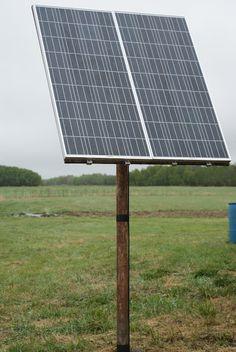 Off the Grid at -30:  A DIY Solar Power Fix