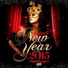 Masquerade Regine's club New Year's Eve in Paris