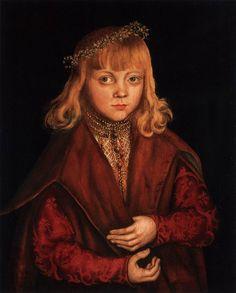 "Lucas Cranach the Elder ""A Prince of Saxony"" 1517 (National Gallery of Art, Washington DC)"