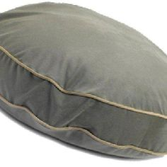 Super Soft Round Dog Pillow Size: Small (28' L x 28' W), Color: Mushroom -- Review more details here : Pet dog bedding