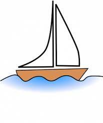 Resultado de imagem para barco a vela desenho