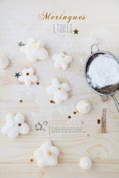 meringues, griottes
