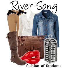 """River Song"" by fofandoms on Polyvore"