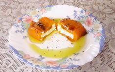 Speca te pjekura me djathë Panna Cotta, Breakfast, Ethnic Recipes, Food, Recipes, Morning Coffee, Dulce De Leche, Eten, Meals