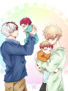 TodoBaku Family ♥ OMG! They are freaking cute ♥♥♥