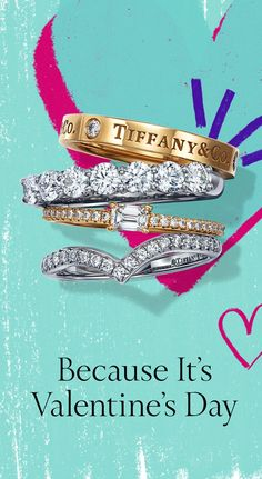 Love rings true this Valentine's Day with a band ring from Tiffany. Love rings true this Valentine's Day with a band ring from Tiffany. Tiffany And Co, Tiffany Blue, Diamond Eyes, Diamond Rings, Solitaire Diamond, Uncut Diamond, Diamond Pendant, Jewelry Ads, Fine Jewelry