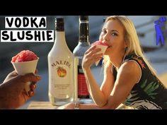 ▶ Vodka Snow Cone Slushie - Tipsy Bartender - YouTube
