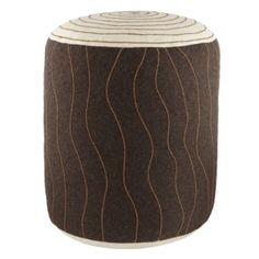 Campfire Tree Trunk Seat at The Land Of Nod. These are so cute.