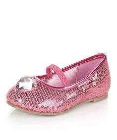 Take a look at this Fuchsia Tomayo Ballet Flat by Jelly Beans on #zulily today!