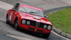 Alfa Romeo 2600 Sprint at Karussell on the Nordschleife