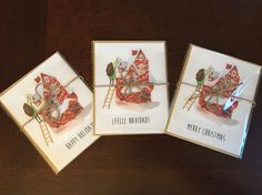 Holiday Christmas cards! 10 for $14!! #etsy #seasonalcards #christmascards #boxedset #etsy #etsyseller #etsyshop #sale #goods #holidays #illustration #art