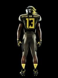 The Oregon Ducks Uniforms by Nike