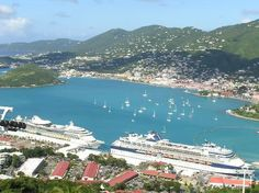 Cruise ships, St. Thomas