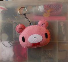 chaveiro gloomy bear - encomendas pela minha página no facebook - https://www.facebook.com/Boutiquegeekbg/